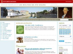 Página de Inicio del nuevo sitio